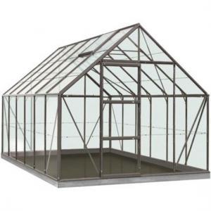 Dagaanbieding - ACD tuinkas Oliver 9.9m2 - antraciet – tuinbouwglas dagelijkse aanbiedingen