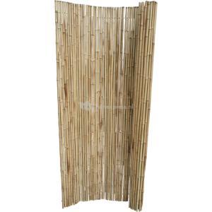 Bamboemat naturel middel