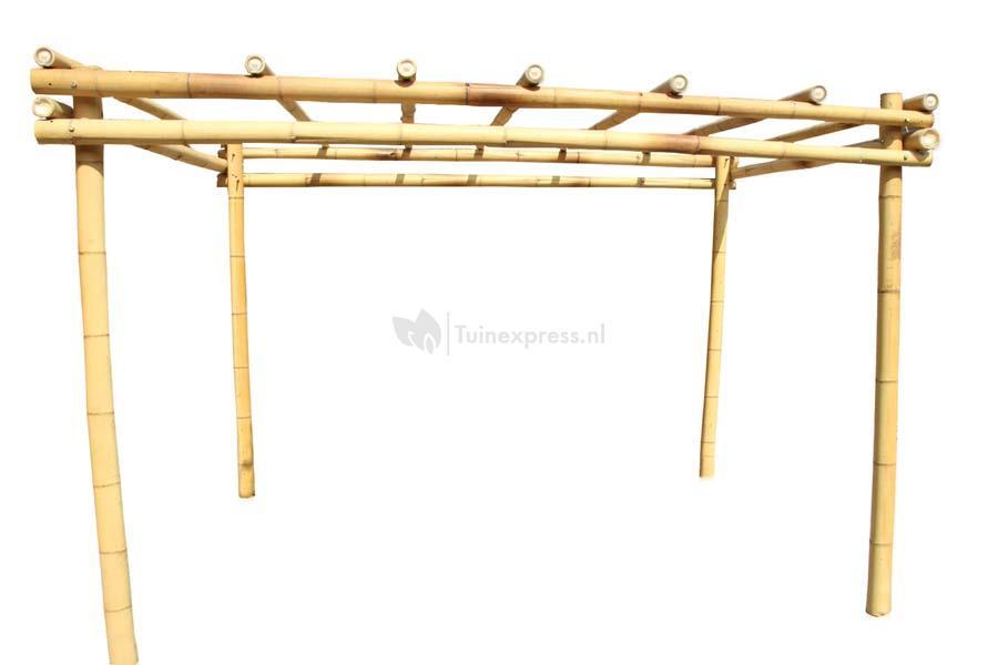 Express bamboe pergola - Pergola bambou jardin ...