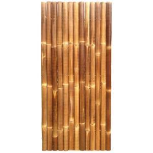 Giant Bamboe Tuinscherm Natuurlijk Zwart Express kopen