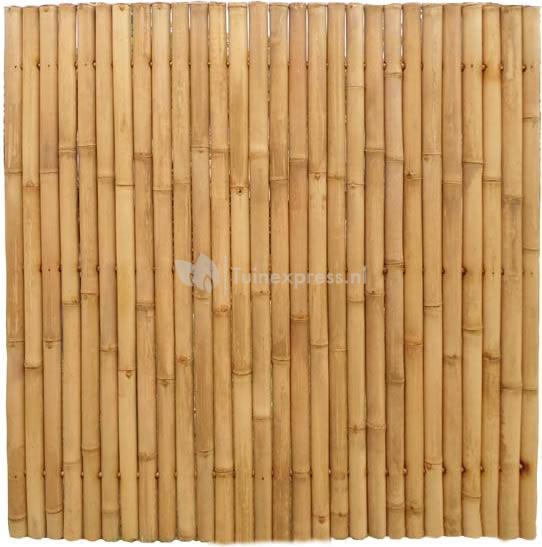 Tuinscherm bamboe