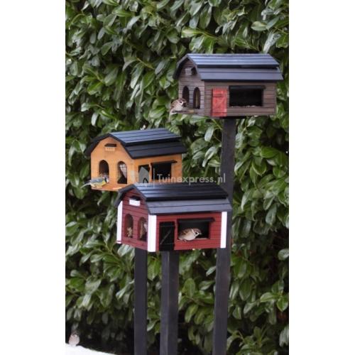 Paal voor montage vogelhuisje