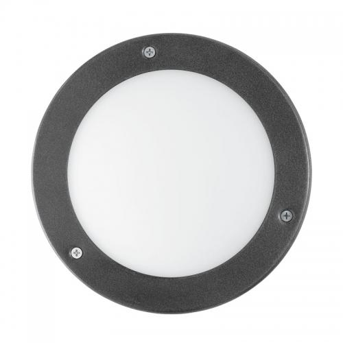 Vento 1 led wand- en plafondlamp - Vento 1 led wand- en plafondlamp De Vento 1 led wand- en plafondlamp is een modern vormgegeven wandlamp. Het product is gemaakt van verzinkt staal dus door zijn hoogwaardige kwaliteit kunt u jaren lang van dit product genieten. De Vento 1 is een compacte lamp en is dus denkbaar bij iedere voordeur. De lichtbron is bij deze lamp inbegrepen. Lamp is voorzien van wit matglas. Let op: levering met bijhorende lampen Specificaties: Type lamp: wand-en plafondlamp Kleur: antraciet Materiaal: staal (...)
