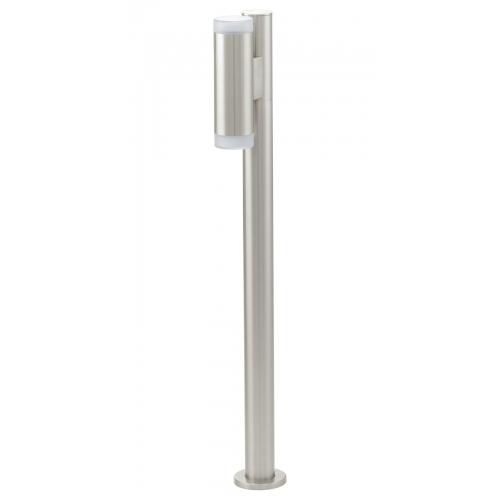 Riga-led groot vloerlamp - Riga-led groot vloerlamp De Riga-LED groot vloerlamp is een modern vormgegeven lamp. Dankzij zijn fraaie uitstraling is de Riga-LED groot vloerlamp een verrijking voor uw tuin. Naast dat de lamp modern vormgegeven is zal hij ook een perfect lichtbeeld geven in uw tuin. Doordat het product van roestvrijstaal is gemaakt en dus weersbestendig is kunt u jaren lang van het product genieten. De Riga-LED groot vloerlamp heeft een gu10 fitting voor een lichtbron van 2 x 2,5 watt maximaal. Plaats de(...)