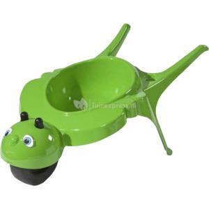 Kinderkruiwagen rolling bee groen