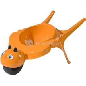 Kinderkruiwagen rolling bee oranje