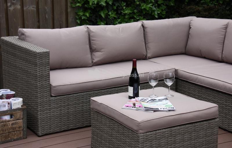 Express loungeset mallorca grijs - Lounge grijs en paars ...