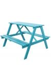 Kinderpicknicktafel Blauw