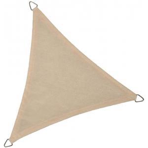 Dagaanbieding - Schaduwdoek driehoek 3.6 meter gebroken wit dagelijkse aanbiedingen