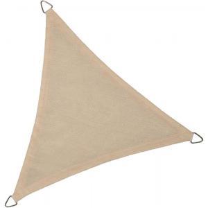 Dagaanbieding - Schaduwdoek driehoek 5 meter gebroken wit dagelijkse aanbiedingen