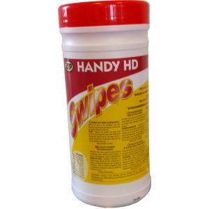 Reinigende doekjes voor sterk vervuilde handen