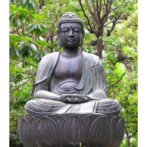 Boeddha tuinposter