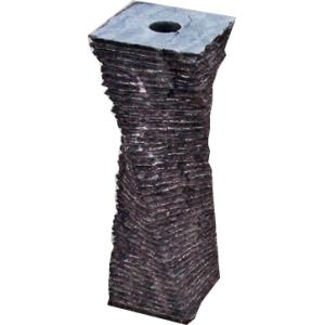 Rijn waterornament compleet set inclusief verlichting, pomp, onderbak en afdekplaat hoogte ornament: 50 cm ...