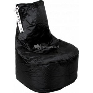 Bill & Me zitzak stoel zwart