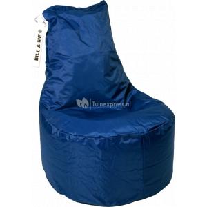 Bill & Me zitzak stoel blauw