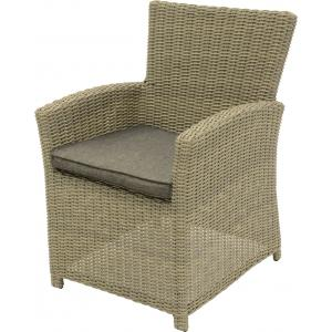 Wicker tuinstoel Tropez set van 2