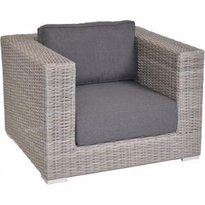 Dagaanbieding - Loungestoel El Toro grijs dagelijkse aanbiedingen