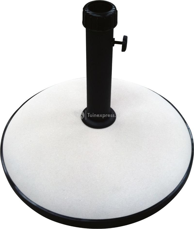 express parasolvoet beton rond 30 kg beige. Black Bedroom Furniture Sets. Home Design Ideas