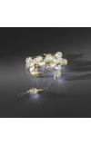 LED deco lichtsnoer gouden metaalbollen