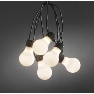 Led Feestverlichting Met Opaal Heldere Peerlampen 4 5m Konstsmide kopen
