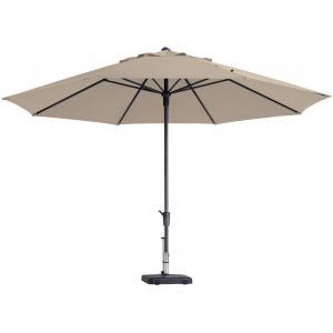 Dagaanbieding - Madison parasol Timor Luxe rond 400 cm ecru dagelijkse aanbiedingen