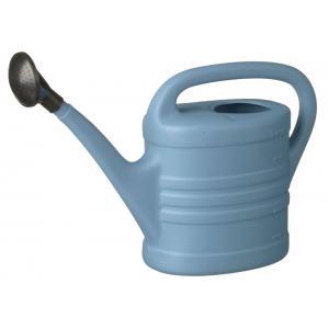 Kunststof gieter blauw 5 liter