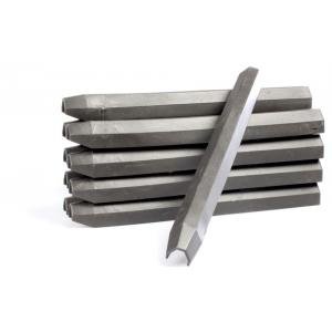 Piket set van 10 grondpennen - 38 cm