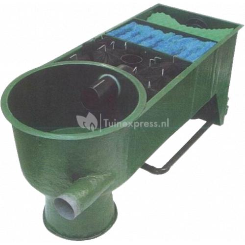 Yumota 3 kamer filter met vortex pomp gevoed
