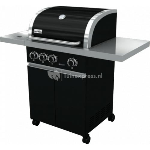 Prominent 3+ burner black cabinet