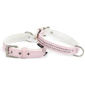 Luxo honden halsband bling - 27 cm x 12 mm