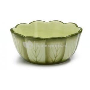 Keramiek eetbakje salad - 11 x 5 cm