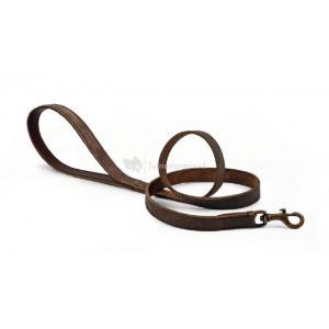 Leren honden looplijn jumana - 130 cm x 22 mm
