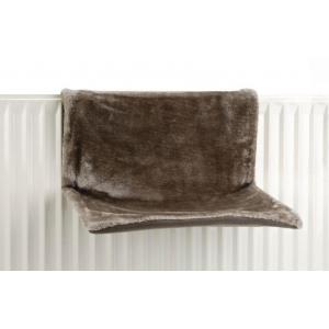Radiatorhangmat sleepy grijs