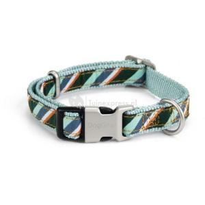 Nylon honden halsband diago mint - 35-50 cm x 20 mm