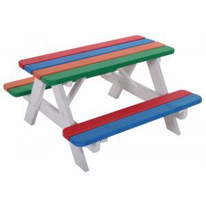Kinderpicknicktafel Pino gekleurd