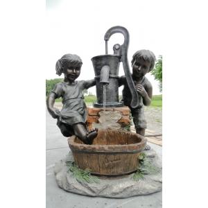Austin waterornament wilt u graag uw tuin of terras opvrolijken? dan is dit decoratief waterspel ''kinderen ...