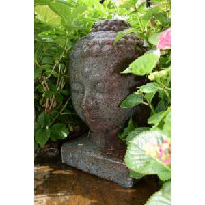 Lasa waterornament waan u in een oosterse sfeer en haal een bron van rust in uw tuin met dit lasa ...