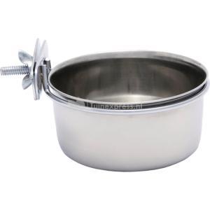 Rvs coop cups met houder en schroefdraad - 15 cm