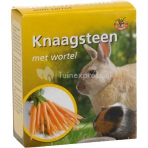 Knaagsteen met wortel - 70 gram
