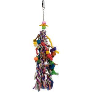 Vogelspeelknots met fun onderdelen