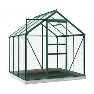 ACD tuinkas Daisy 3.8m2 - groen – veiligheidsglas