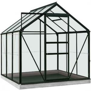 ACD tuinkas Daisy 3.8m2 - zwart  polycarbonaat