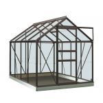 ACD tuinkas Ivy 5.0m2 - antraciet - veiligheidsglas