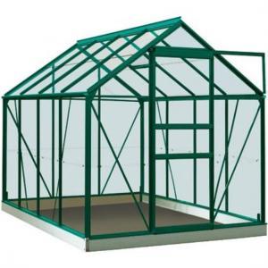 ACD tuinkas Ivy 5.0m2 - groen – veiligheidsglas