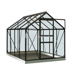 ACD tuinkas Ivy 5.0m2 - zwart  polycarbonaat