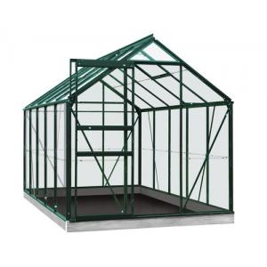 ACD tuinkas Lily 6.2m2 - groen  veiligheidsglas