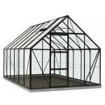 ACD tuinkas Oliver 9.9m2 - zwart – polycarbonaat