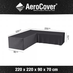 AeroCover loungesethoes L-vorm 220x220x90x70 cm