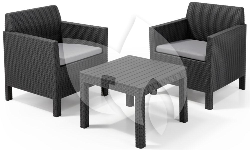 balkonset lounge elegant best pam lounge gartenmbel. Black Bedroom Furniture Sets. Home Design Ideas