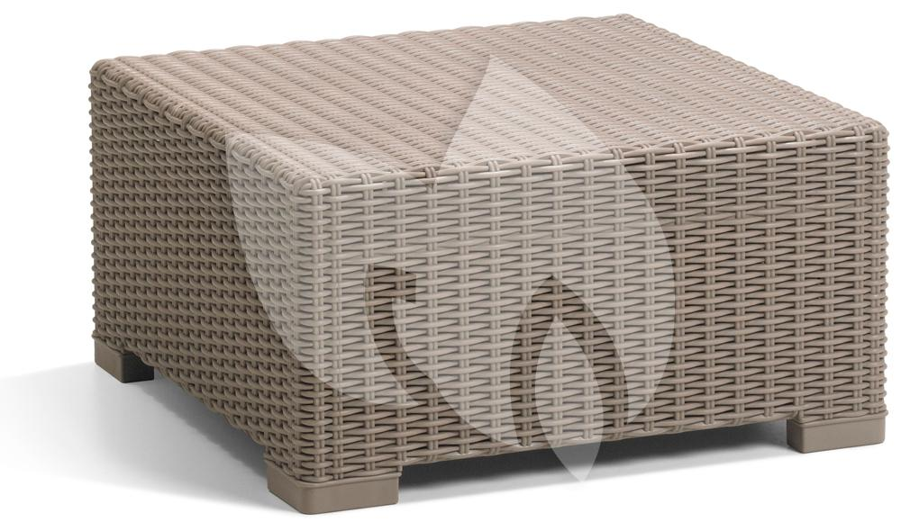 Multifunctionele Indoor Picknicktafel : Allibert california loungeset 3 zits cappuccino tuinexpress.nl